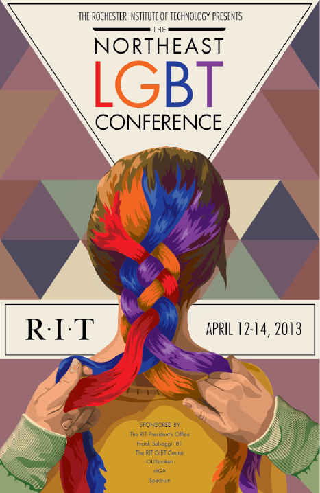 2013 Northeast LGBT Conference Poster & Branding